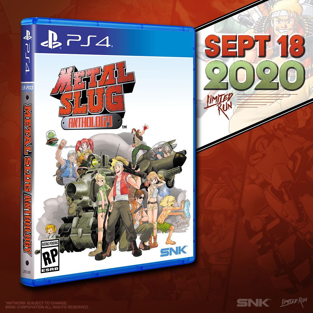 Metal Slug Anthology will have a Limited Run release this Friday!