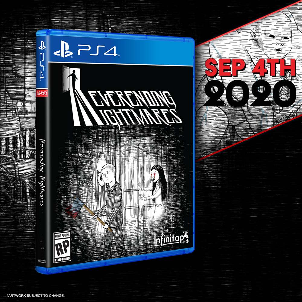 Neverending Nightmares gets a Limited Run for the PS4 this Friday!
