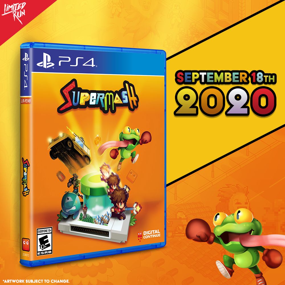 SuperMash gets a Limited Run on PS4 this Friday!