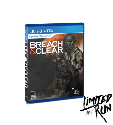 Limited Run #1: Breach & Clear