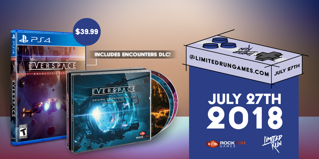 Everspace Coming July 27th! – Limited Run Games