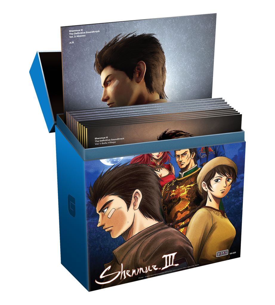 Shenmue III The Definitive Soundtrack 11LP Vinyl Complete Collection
