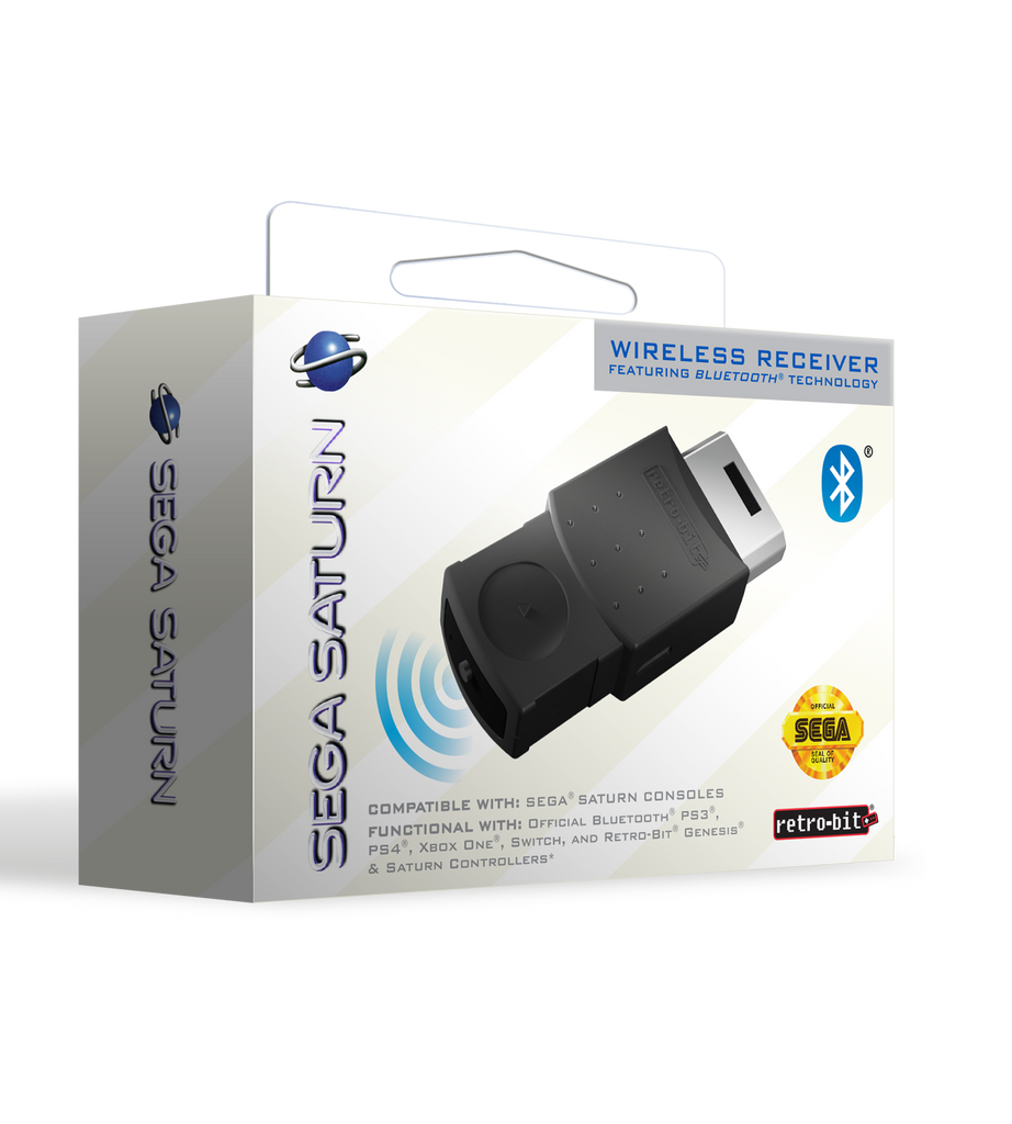Official SEGA Saturn Bluetooth Receiver
