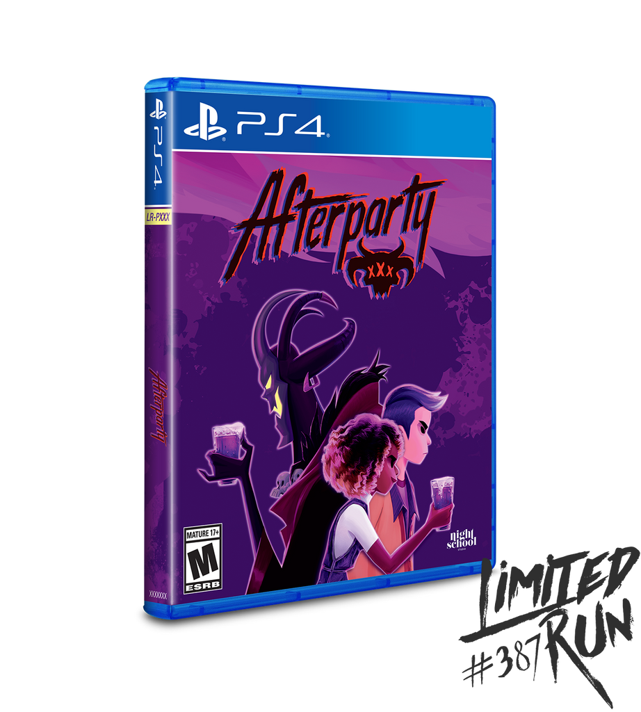 Limited Run #387: Afterparty (PS4)
