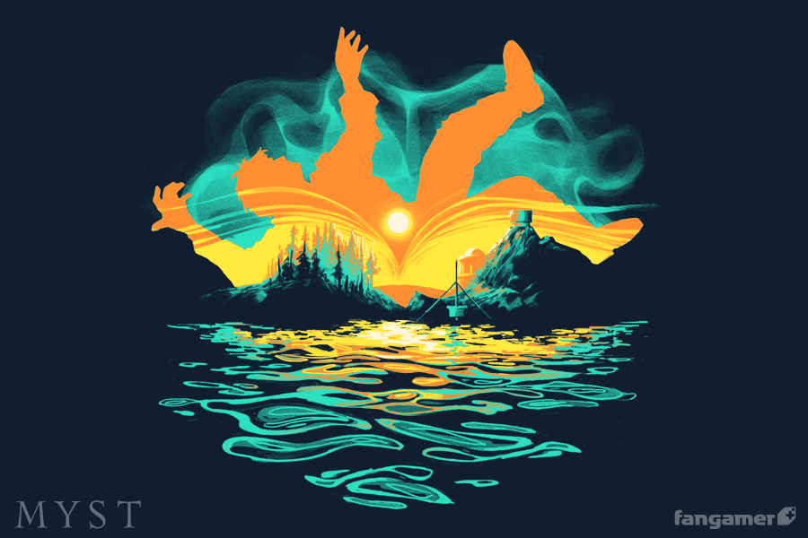 Falling Guy Shirt (Myst)