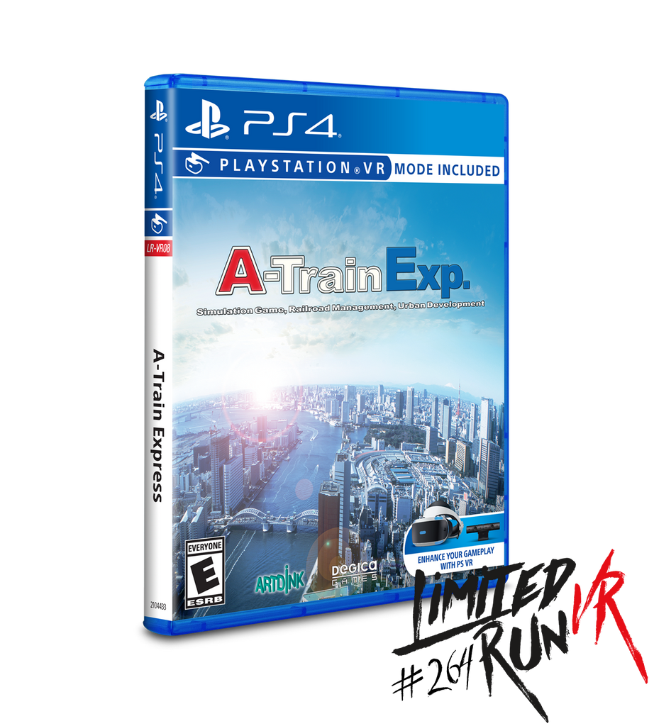 Limited Run #264: A-Train Express (PS4)