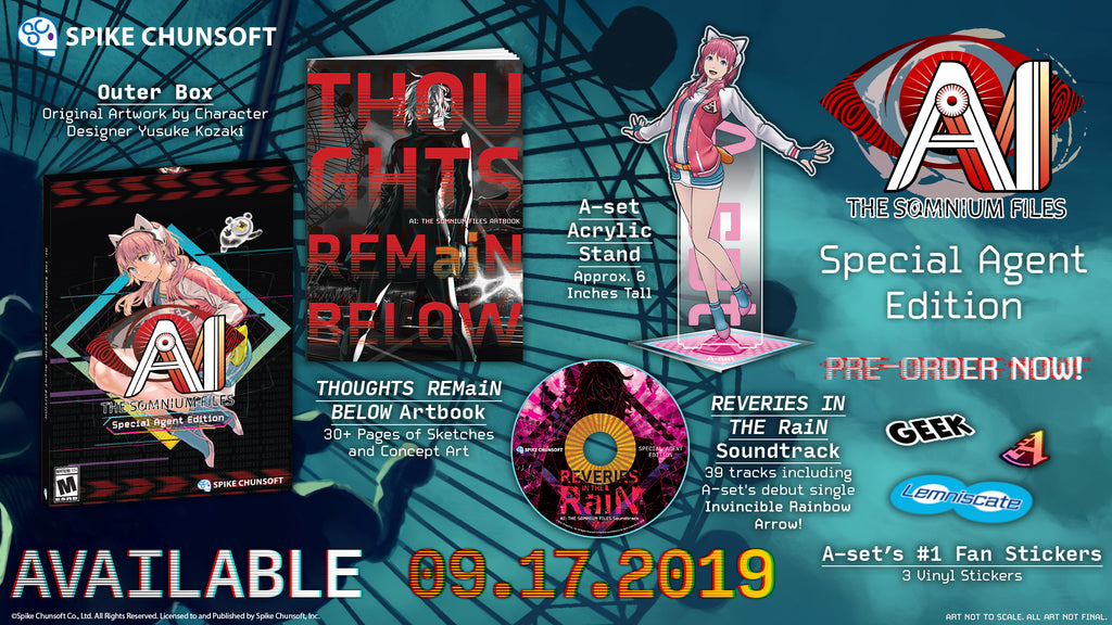 AI: THE SOMNIUM FILES Special Agent Edition (PC)