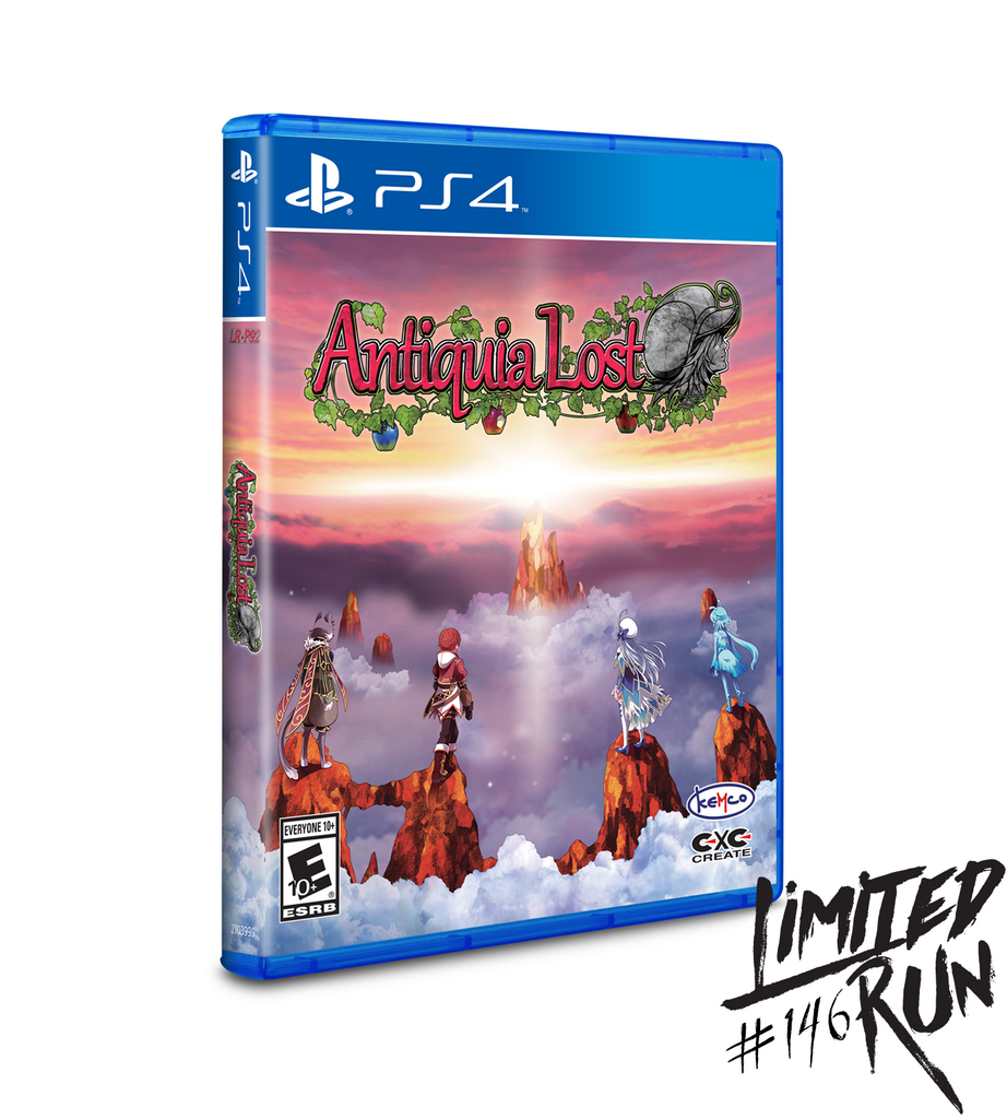 Limited Run #146: Antiquia Lost (PS4)