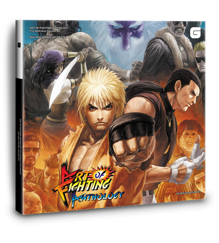 Art of Fighting Anthology Soundtrack Deluxe Rigid Box