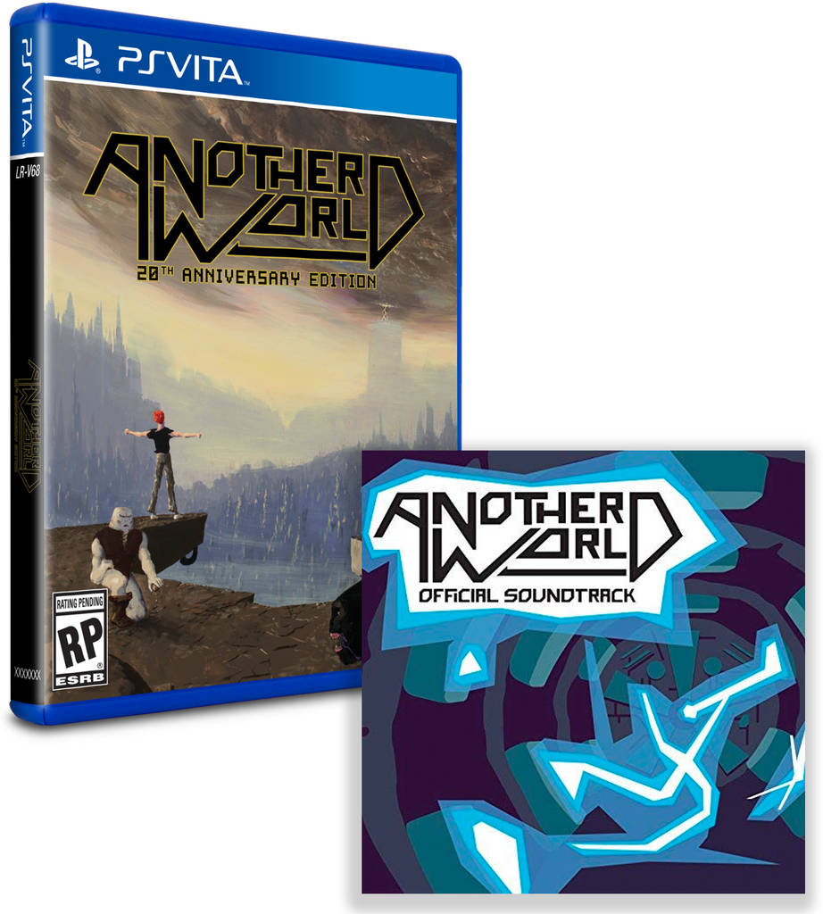 Limited Run #177: Another World Soundtrack Bundle (Vita)
