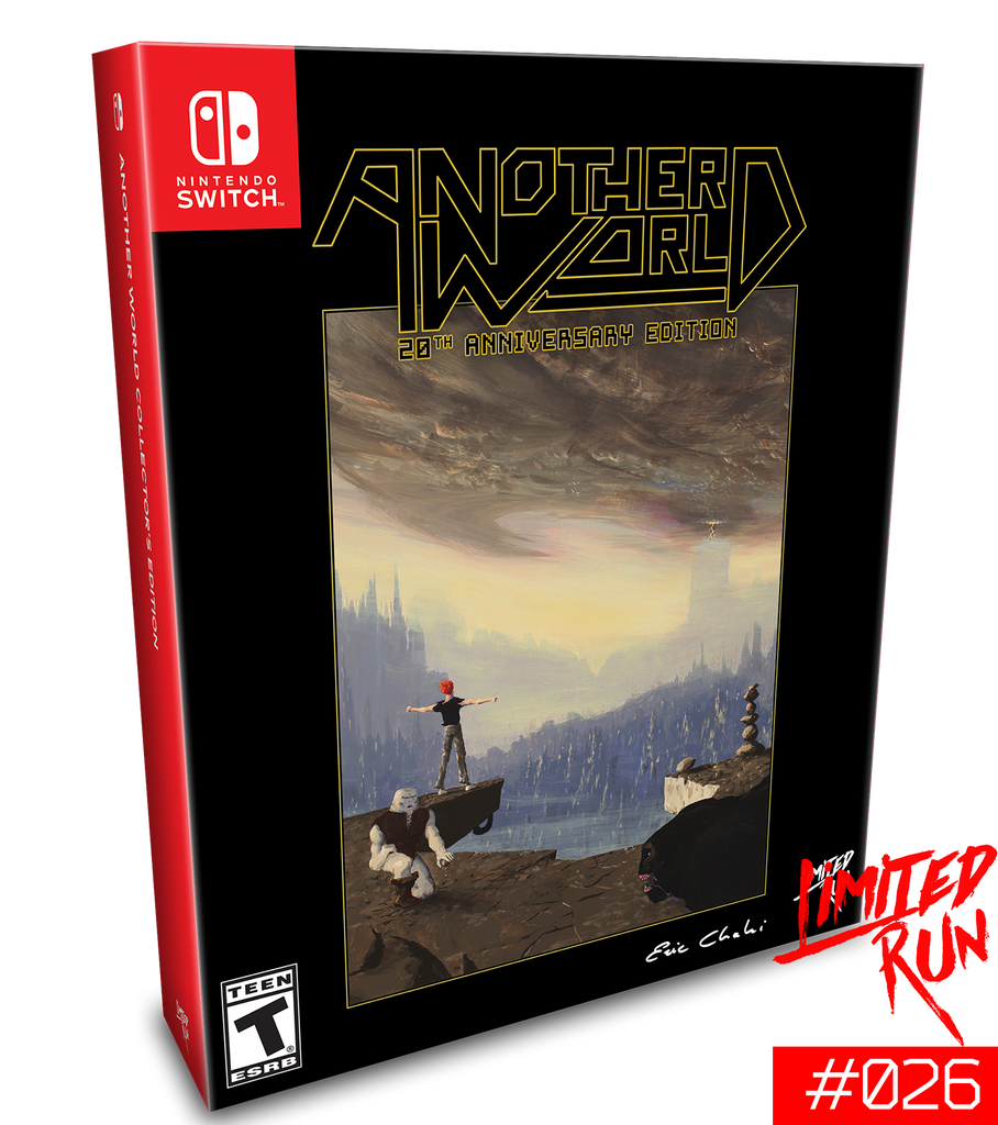 Switch Limited Run #26: Another World Classic Edition