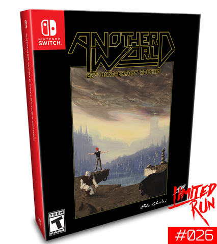 Switch Limited Run #26: Another World Classic Edition [PREORDER]