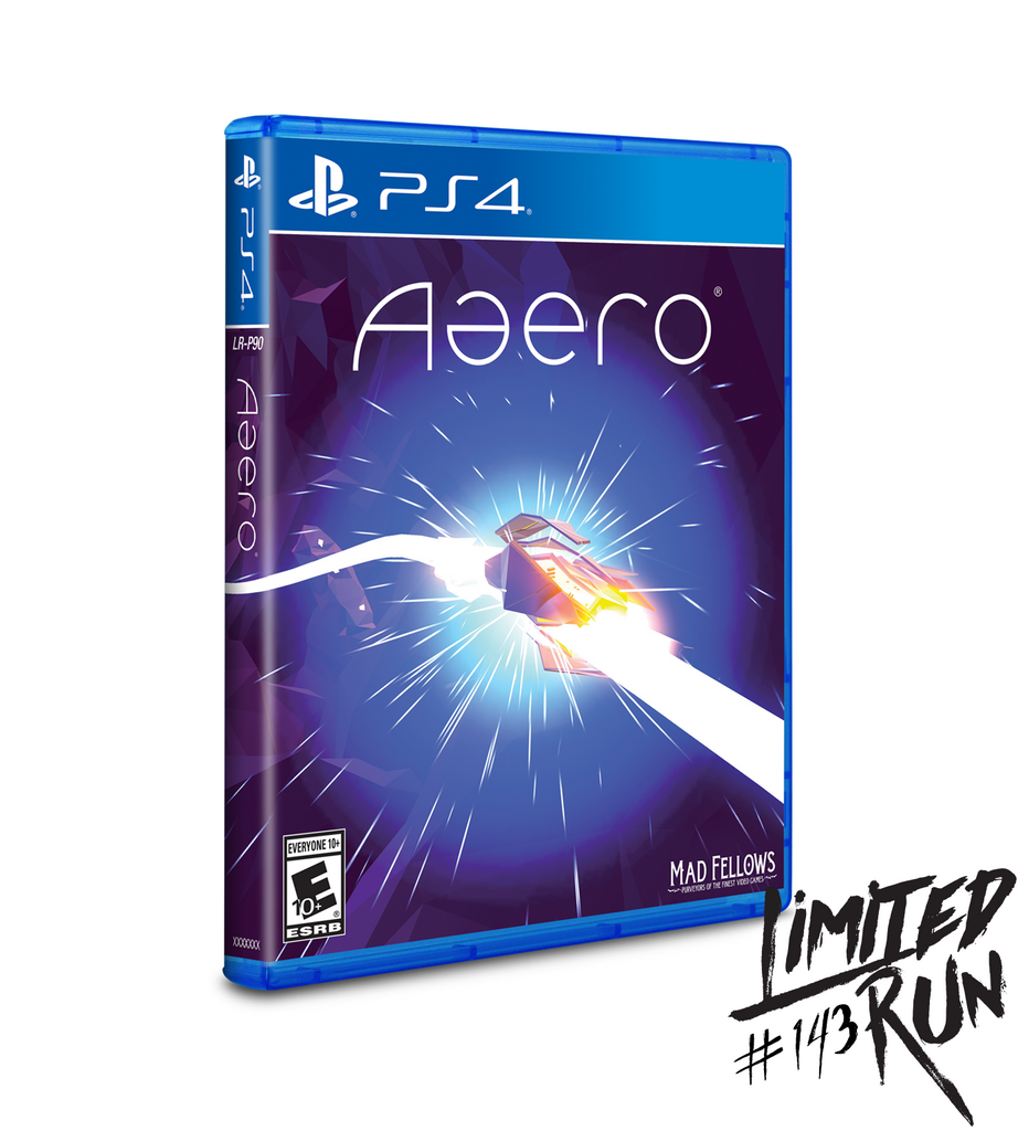 Limited Run #143: Aaero (PS4)
