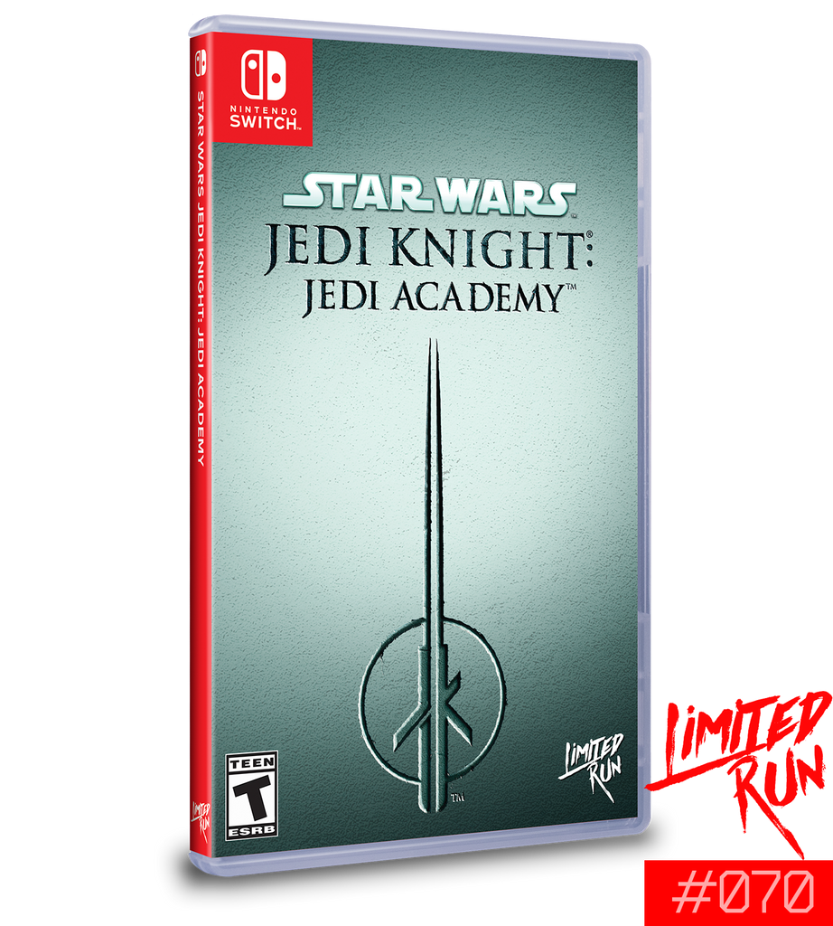 Switch Limited Run #70: Star Wars Jedi Knight: Jedi Academy [PREORDER]