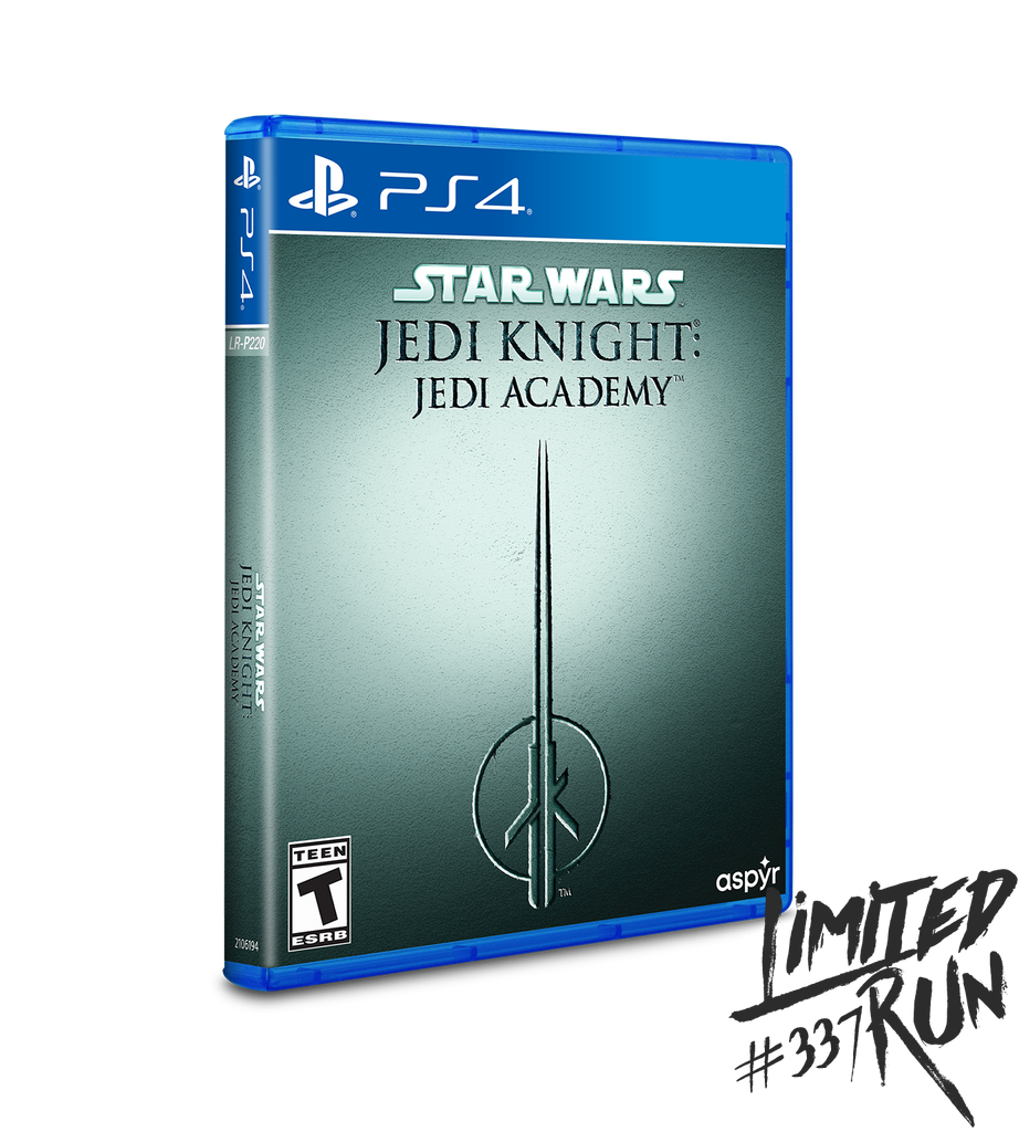 Limited Run #337: Star Wars Jedi Knight: Jedi Academy (PS4) [PREORDER]