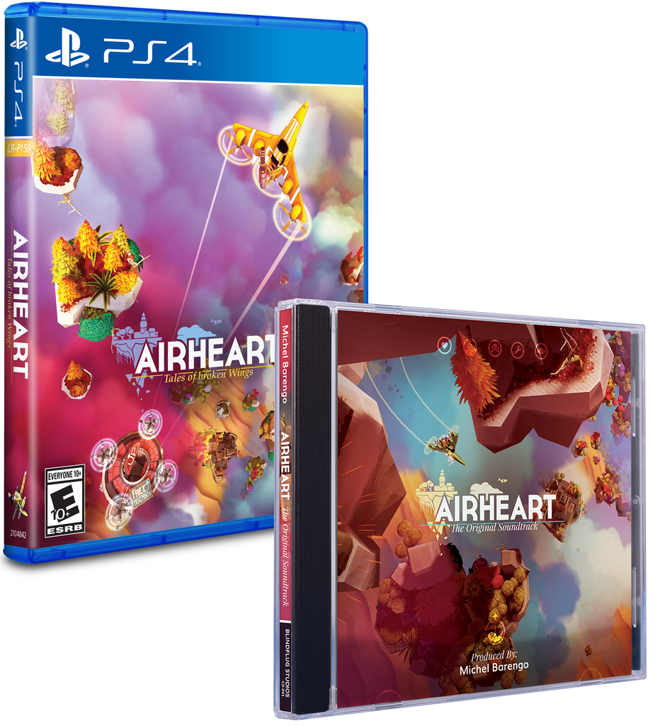 Limited Run #269: Airheart Soundtrack Bundle (PS4)