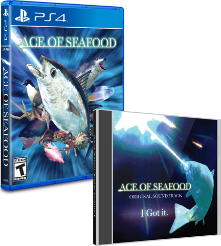 Limited Run #142: Ace of Seafood Soundtrack Bundle (PS4)