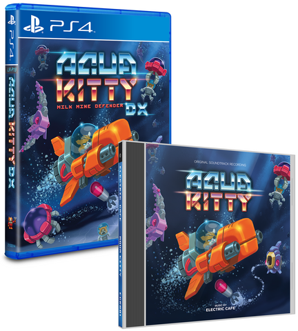 Limited Run #36: Aqua Kitty DX Soundtrack Bundle (PS4)