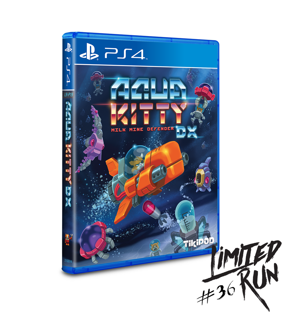 Limited Run #36: Aqua Kitty DX (PS4)