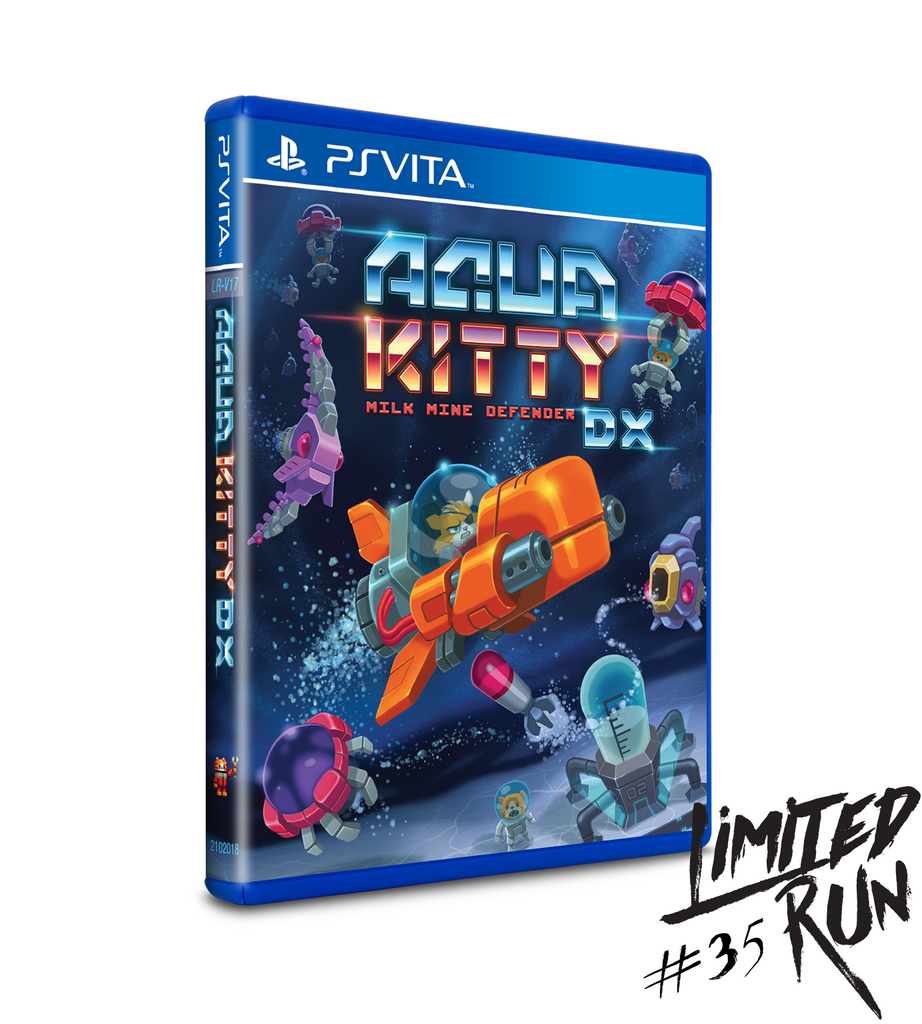 Limited Run #35: Aqua Kitty DX (Vita)
