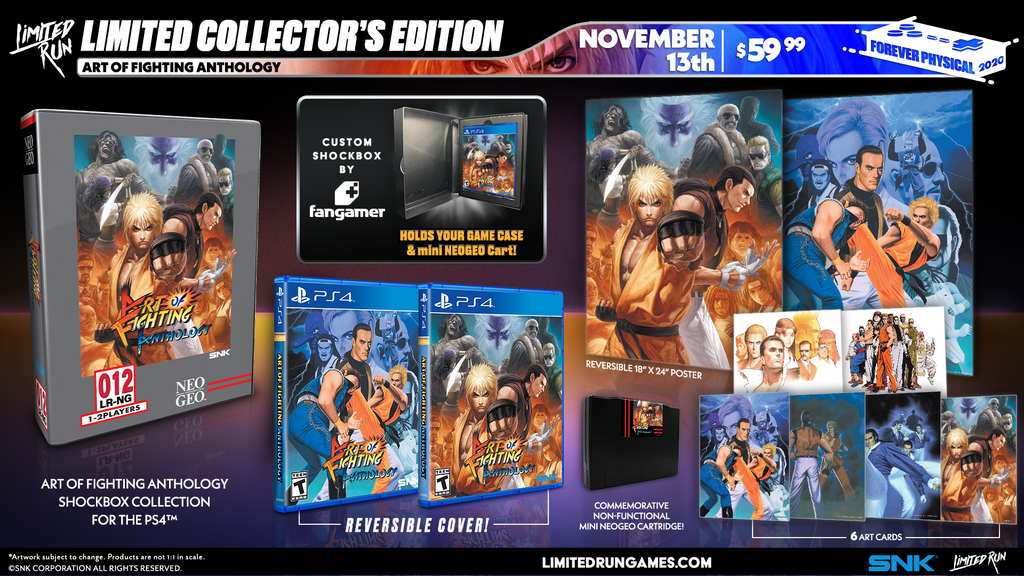 Limited Run #375: Art of Fighting Anthology Collector's Edition (PS4)
