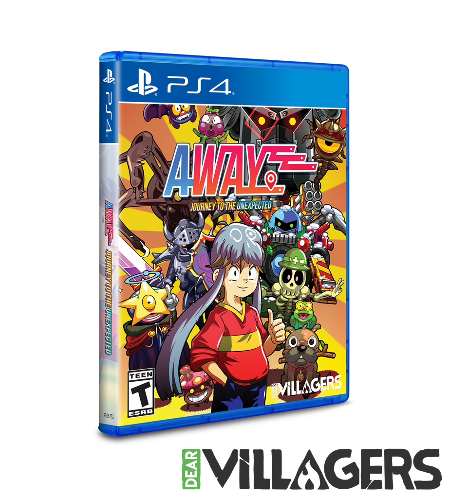 Away: Journey To The Unexpected (PS4) [PREORDER]