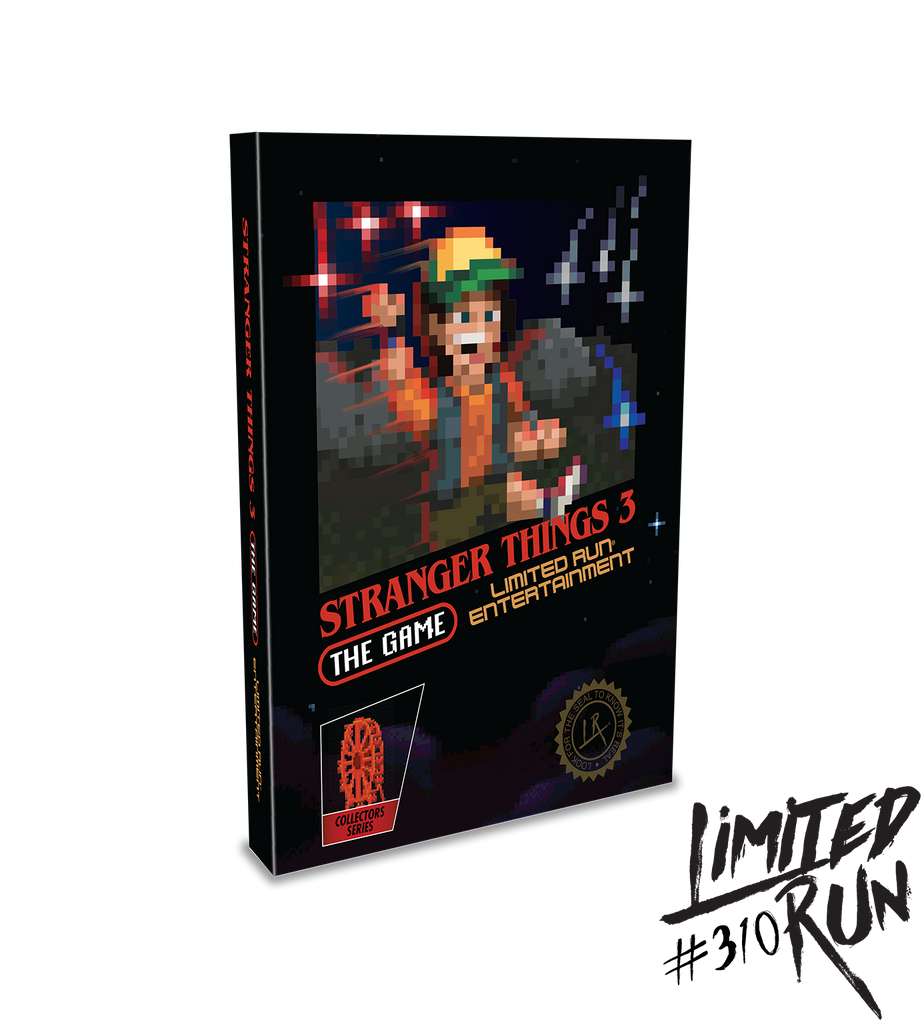 Limited Run #310: Stranger Things 3: The Game Classic Edition (PS4)