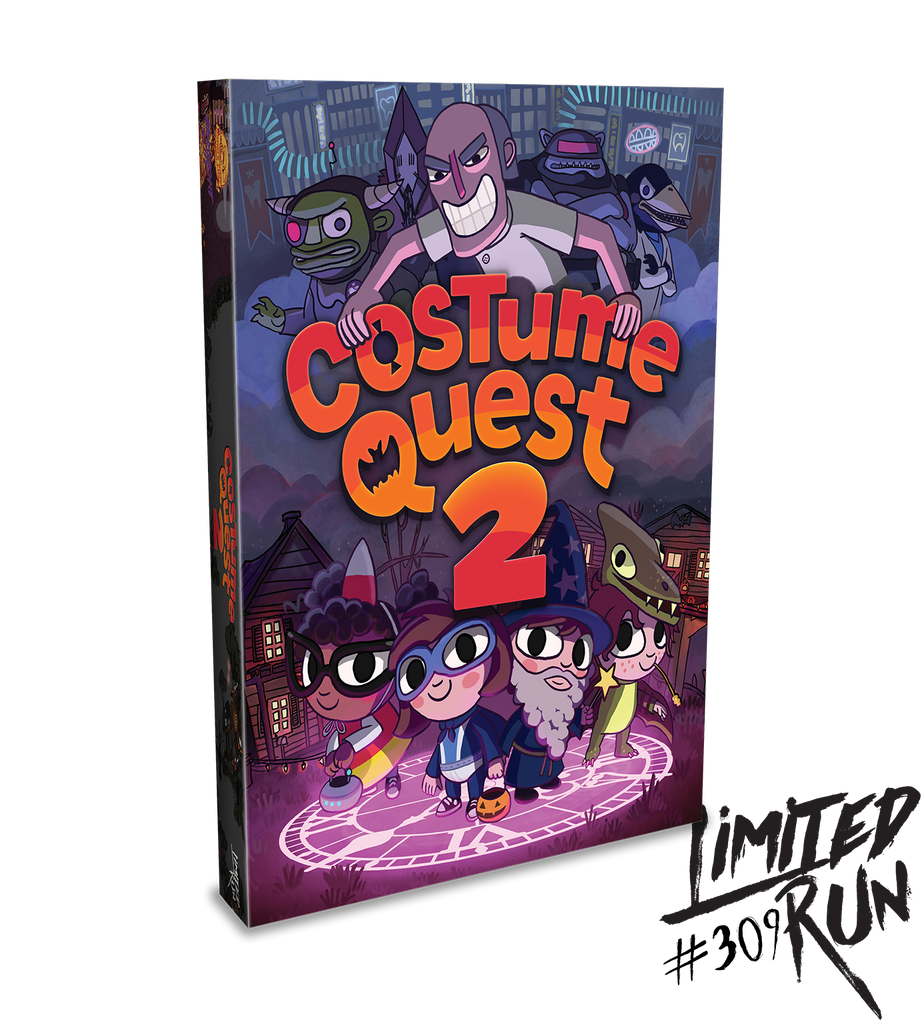 Limited Run #309: Costume Quest 2 Deluxe Edition