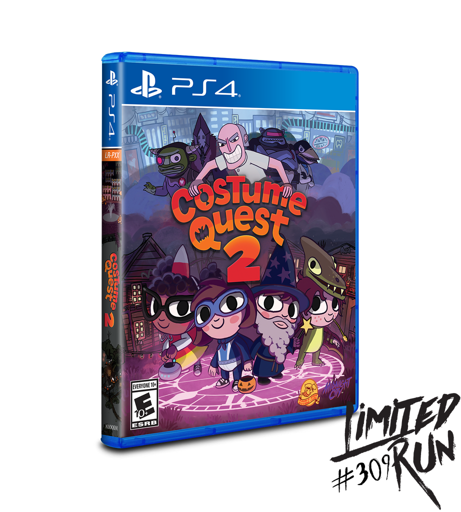 Limited Run #309: Costume Quest 2 (PS4)