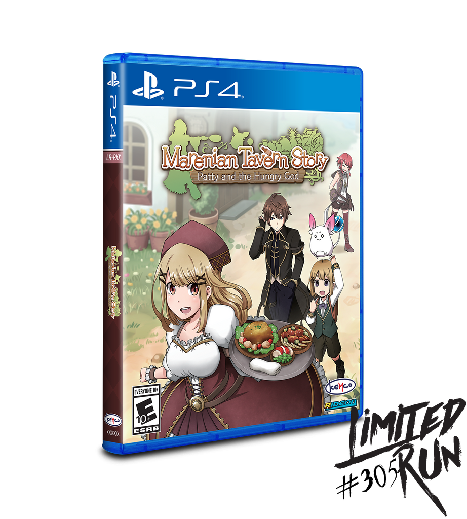 Limited Run #305: Marenian Tavern Story (PS4)