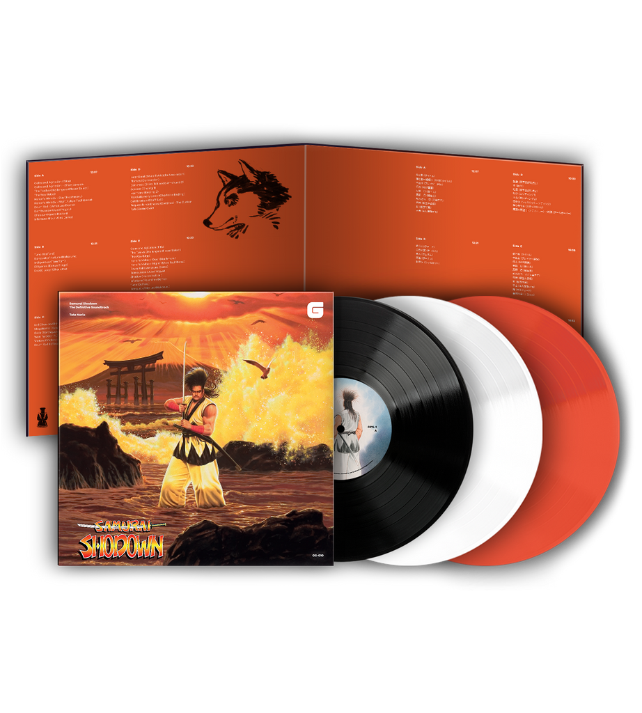 Samurai Shodown Vinyl 3LP Soundtrack