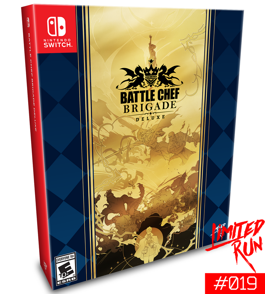 Switch Limited Run #19: Battle Chef Brigade Brigadier Edition