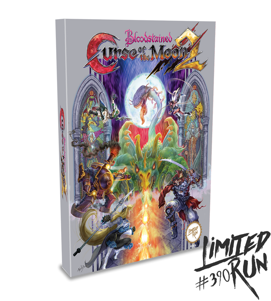 Limited Run #390: Bloodstained: Curse Of The Moon 2 Classic Edition (PS4)