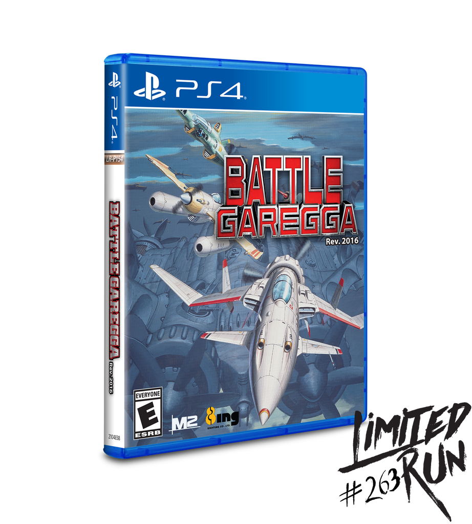 Limited Run #263: Battle Garegga (PS4)