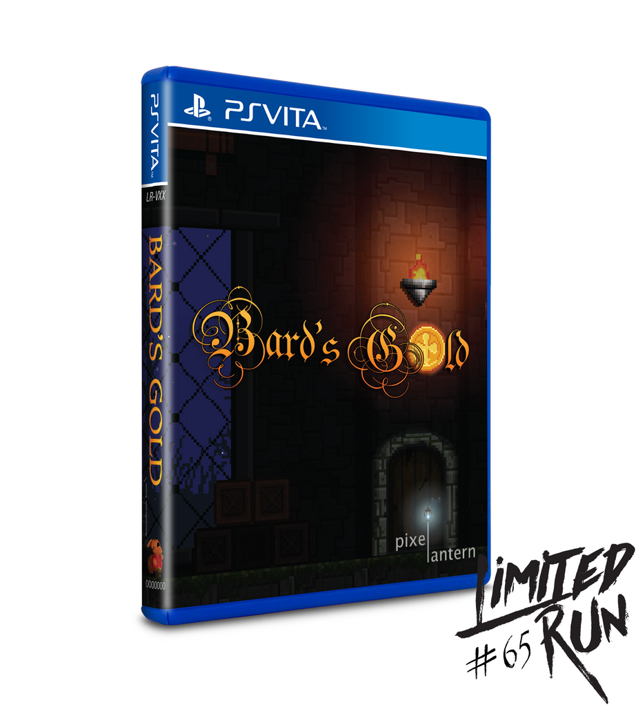 Limited Run #65: Bard's Gold (Vita)
