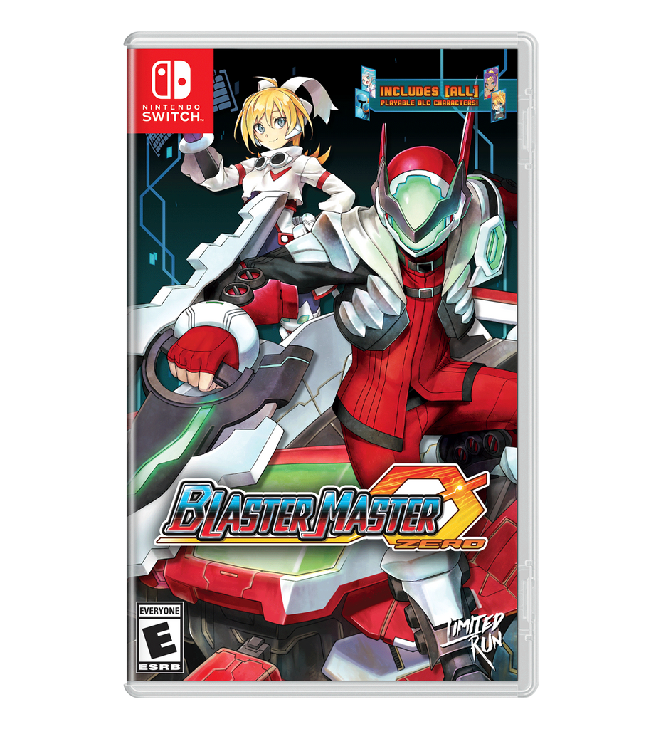 Blaster Master Zero Best Buy Exclusive Cover Sheet