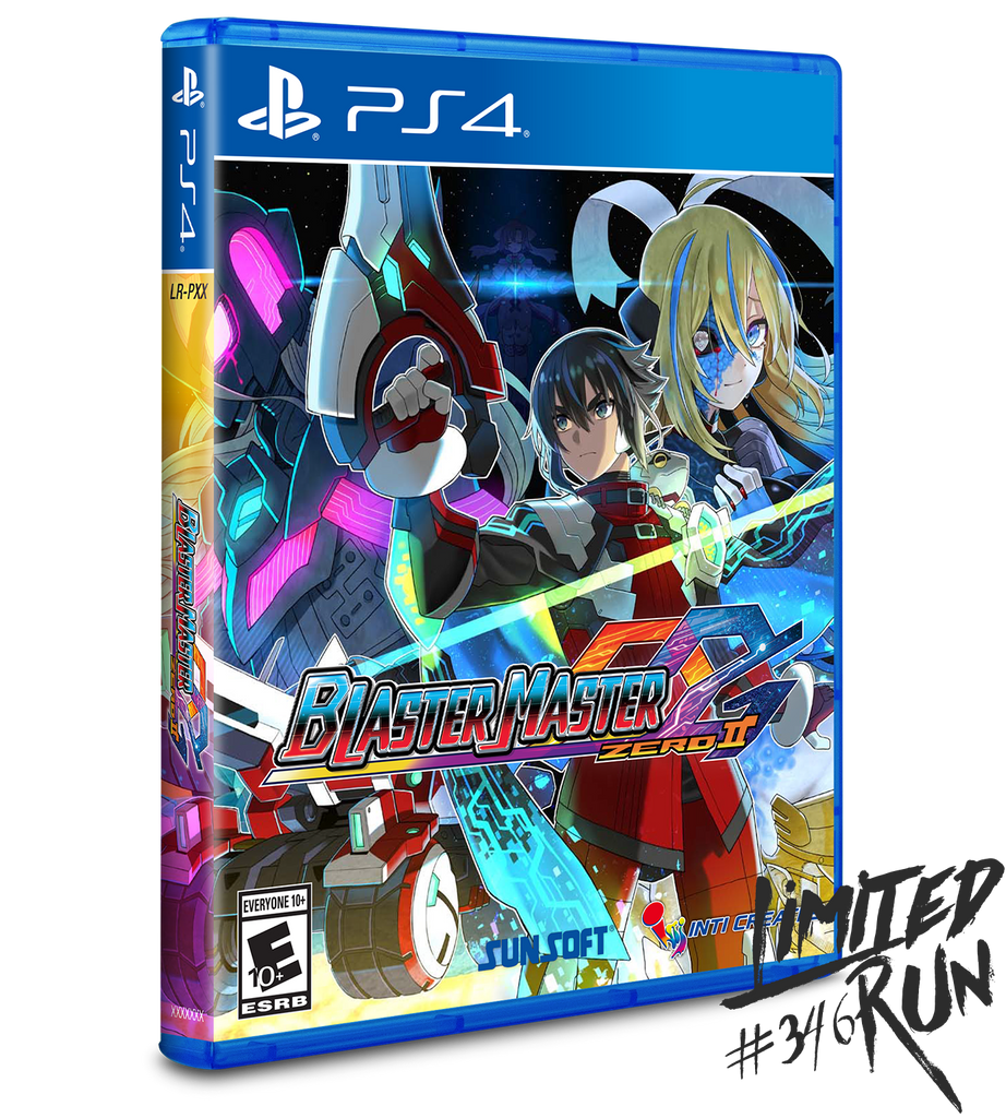 Limited Run #346: Blaster Master Zero 2 (PS4) [PREORDER]