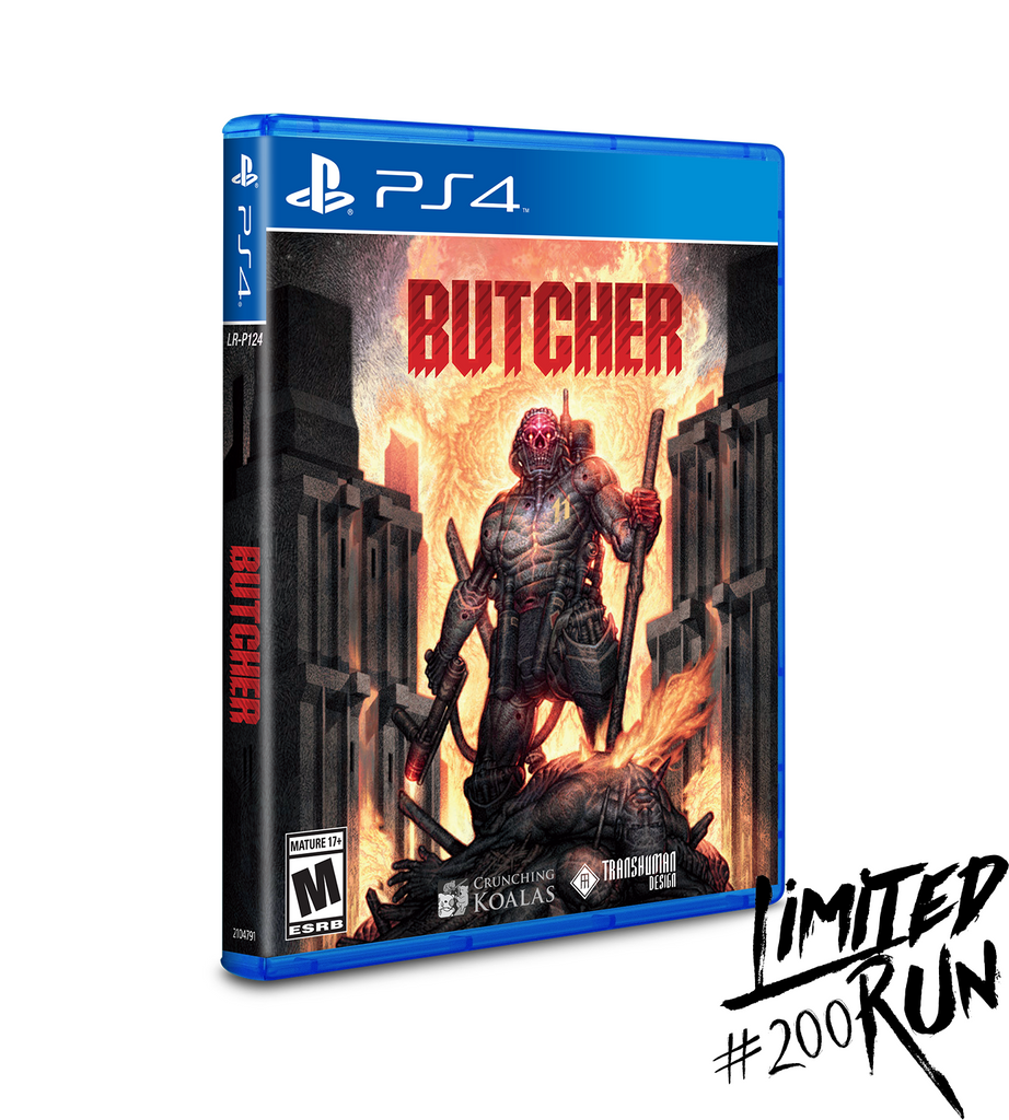 Limited Run #200: Butcher (PS4)