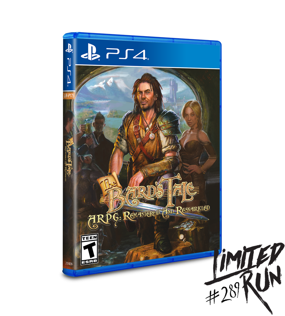 Limited Run #289: Bard's Tale ARPG: Remastered and Resnarkled (PS4)