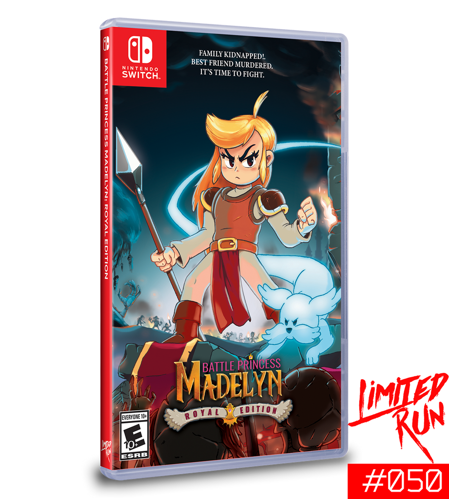 Switch Limited Run #50: Battle Princess Madelyn Royal Edition [PREORDER]