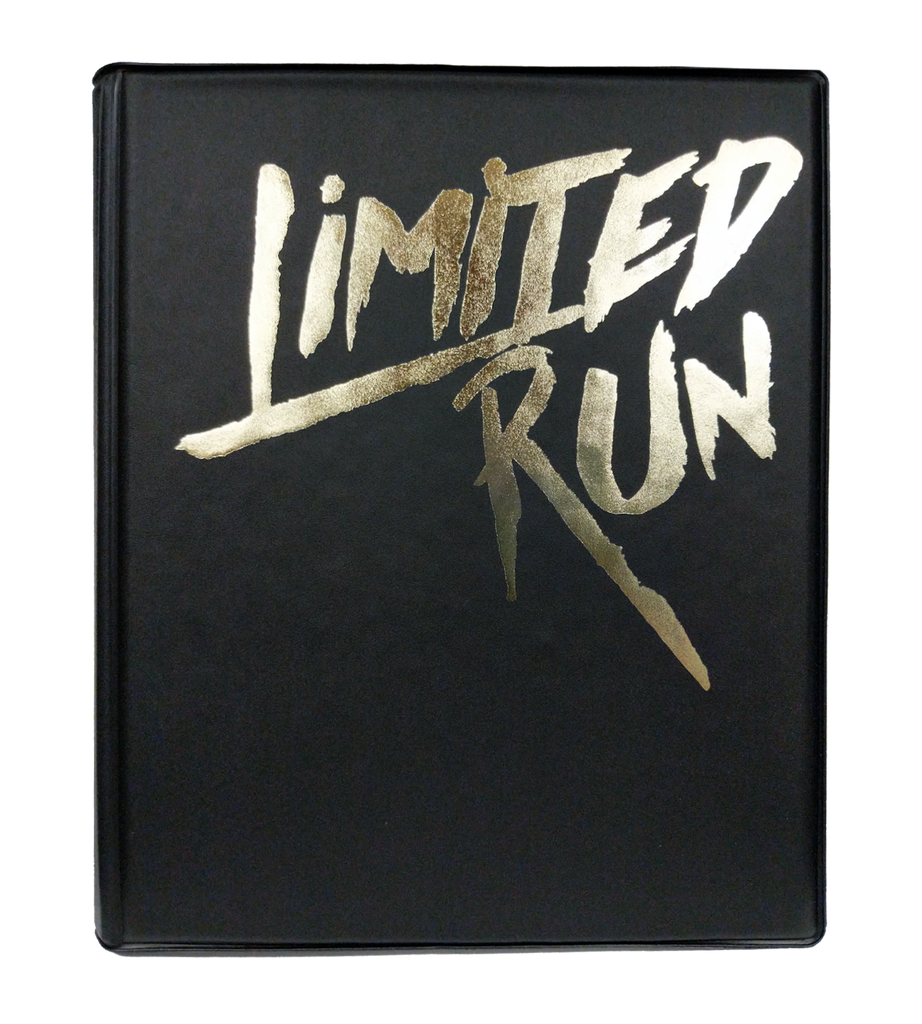 Limited Run Games Trading Card Binder (Gold)