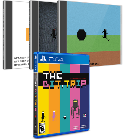 Limited Run #112: The Bit.TRIP Soundtrack Bundle (PS4)