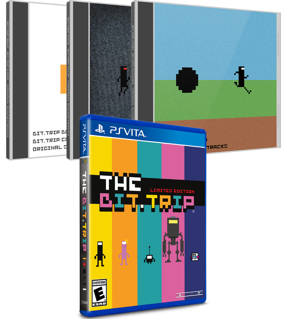 Limited Run #113: The Bit.TRIP Soundtrack Bundle (Vita)