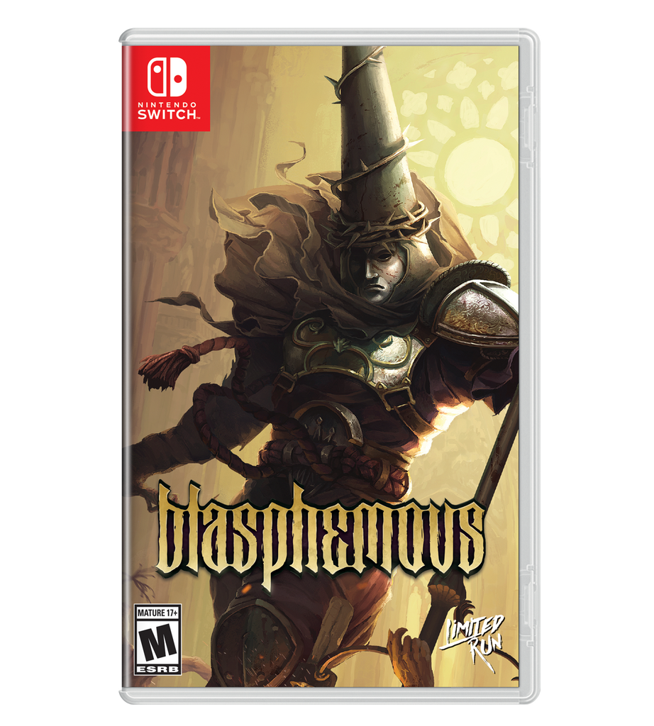 Blasphemous Best Buy Exclusive Cover Sheet