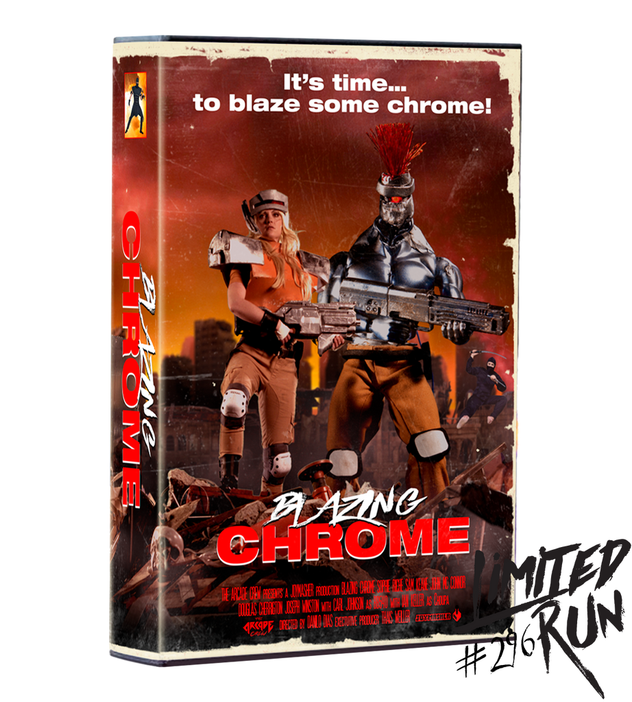 Limited Run #296: Blazing Chrome VHS Edition