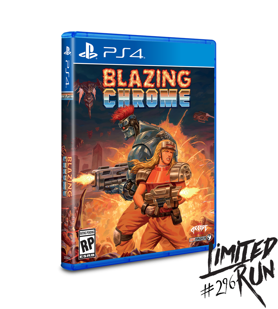 Limited Run #296: Blazing Chrome (PS4) [PREORDER]