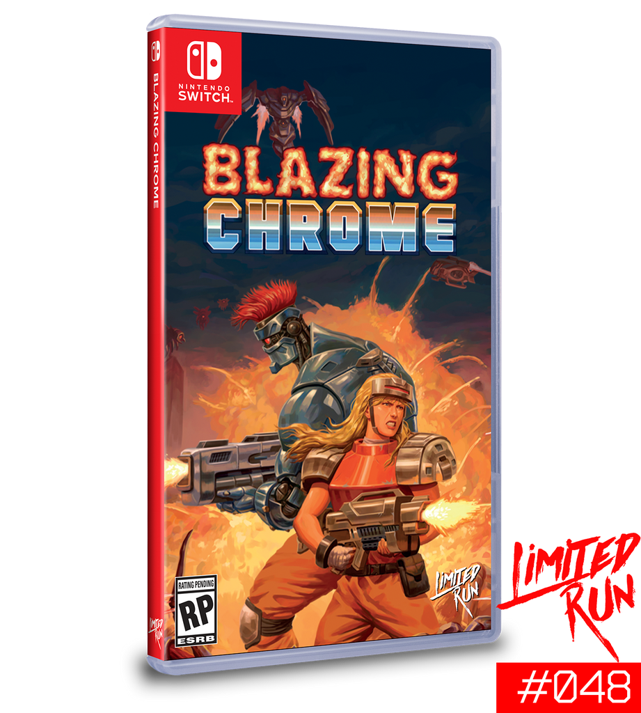 Switch Limited Run #48: Blazing Chrome [PREORDER]