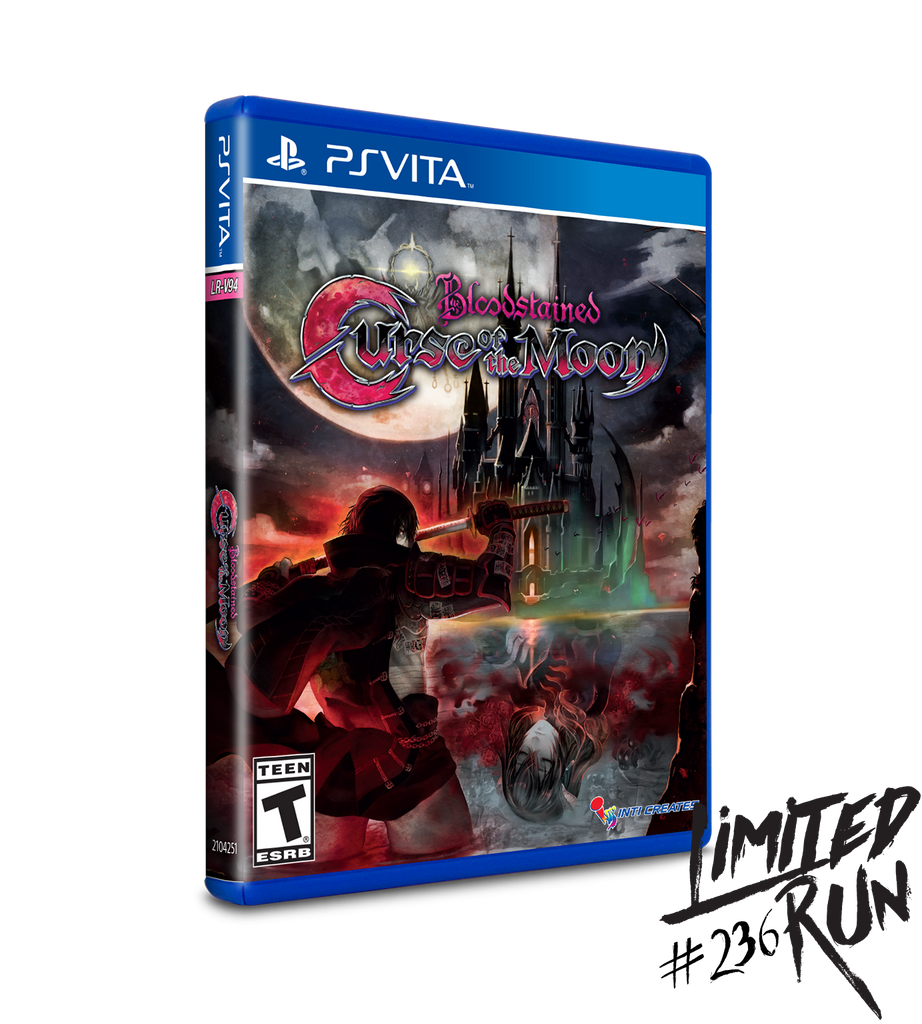 Limited Run #236: Bloodstained: Curse of the Moon (Vita)