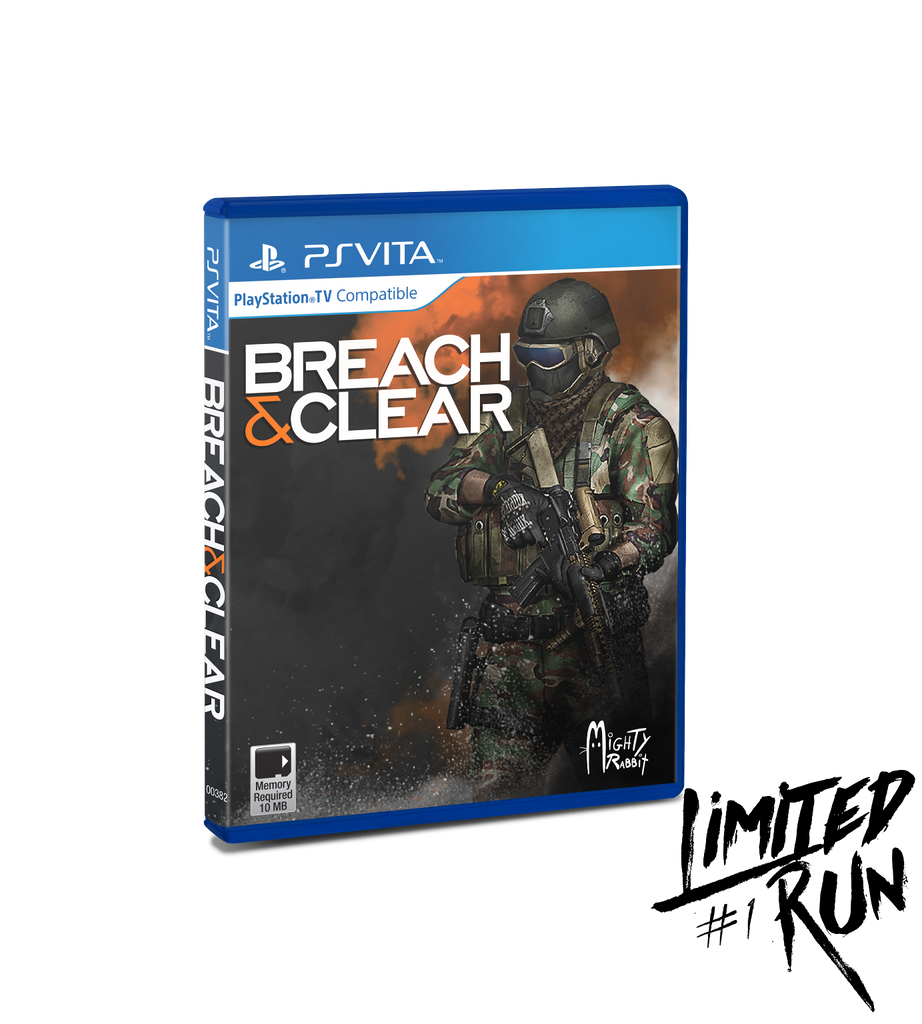 Limited Run #1: Breach & Clear (Vita)