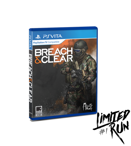 Limited Run #1: Breach & Clear (PS Vita)